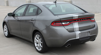 rear angle of 2013 Dodge Dart Decals DARTING E RALLY 2014 2015 2016
