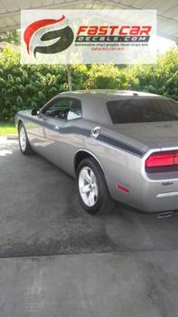 rear of NEW! Hemi RT Dodge Challenger Stripes CLASSIC TRACK 2010-2020