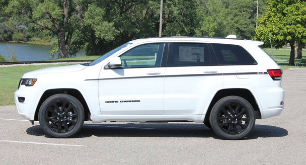 side of 2019 Jeep Grand Cherokee Side Decals PATHWAY 2011-2020