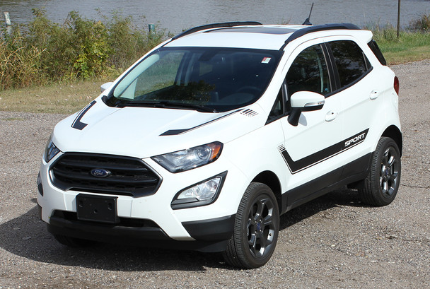 Ford EcoSport Vinyl Graphic Decals FLYOVER KIT 2013-2018 2019