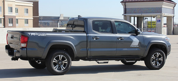 side of Toyota Tacoma Side Vinyl Graphics STORM 2015-2017 2018 2019