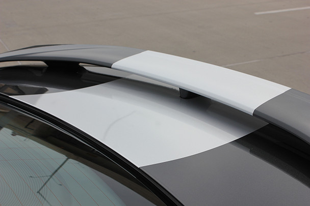 close up of deck lid 2018 Chevy Camaro Wide Stripes OVERDRIVE SS RS 2016 2017 2018