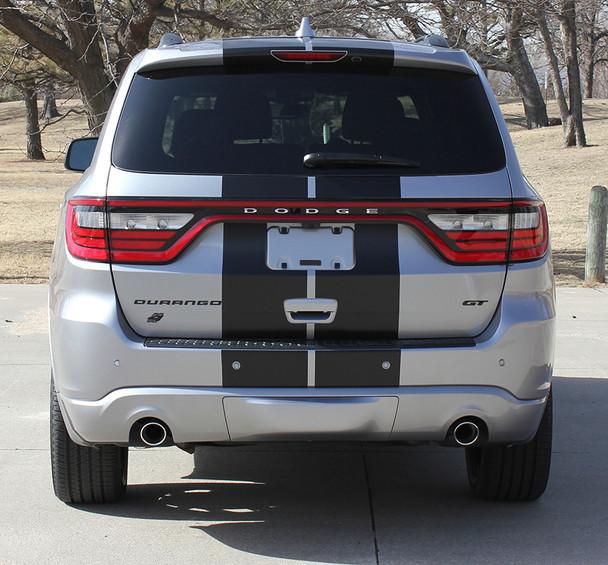 rear of Dodge Durango SRT Rally Stripes DURANGO RALLY 2014-2018 2019