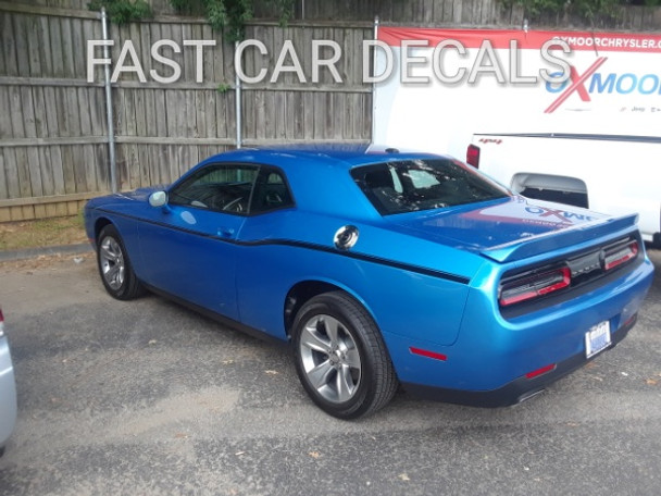 Dodge Challenger Side Vinyl Wrap Graphics Sxt 2011 2018 2019