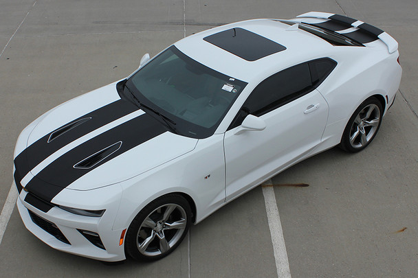 front high view of 2018 Chevy Camaro Rally Stripes CAM SPORT 2016 2017 2018