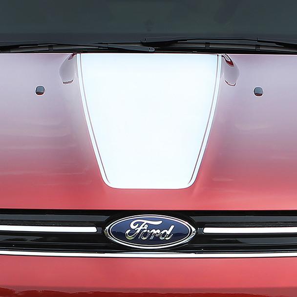 close up of Ford Escape Center Hood Stripes CAPTURE HOOD 2013-2017 2018