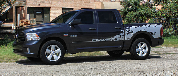 side view of 2017 Dodge Ram Graphics Package RAGE RAM 2009-2017 2018