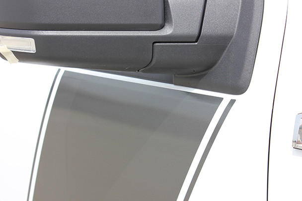 door view of 2017 Ford F150 Side Graphics FORCE 2 3M 2009-2017 2018 2019