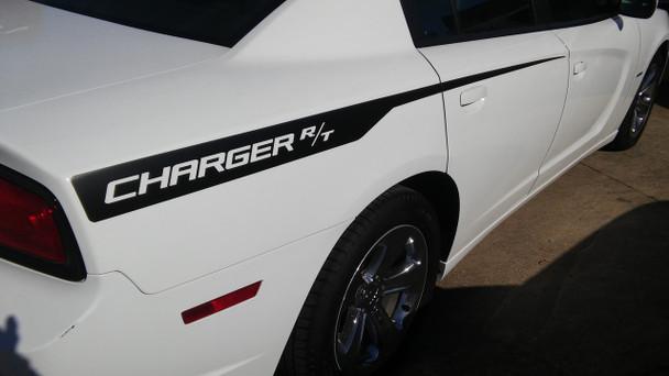 2014 Dodge Charger Vinyl Graphics RECHARGE 2011 2012 2013 2014
