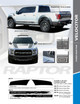 sales flyer for 2020 Ford F150 Raptor Rocker Stripes VELOCITOR ROCKER 2018-2021