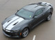 high front view of Racing Stripes for Chevy Camaro CAM SPORT PIN 2016 2017 2018
