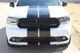 front or white Dodge Durango SRT Racing Stripes DURANGO RALLY 2014-2019