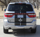 rear of Dodge Durango SRT Rally Stripes DURANGO RALLY 2014-2018 2019 2020