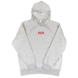 Tyler Grey Embroidered Hoodie
