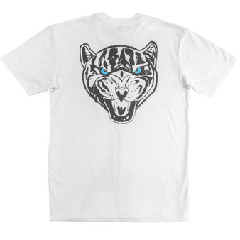 Tiger Tee White - Back