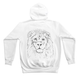 Leon Lion Hoodie White