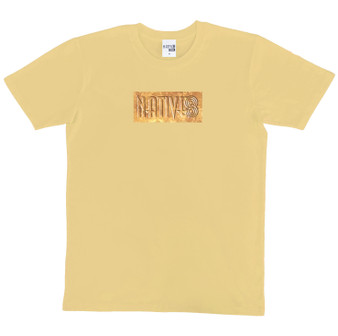 Declan Block Tee Tan