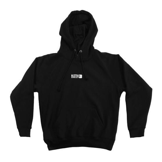 Hoodie Black - Front