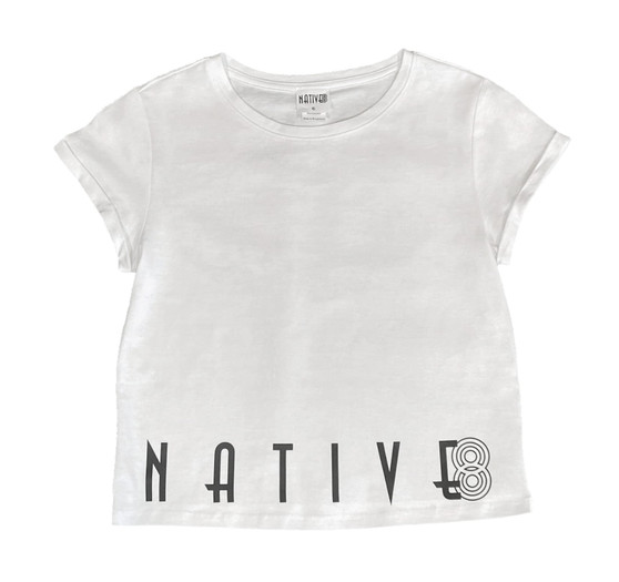 Ashley Relaxed Tee White