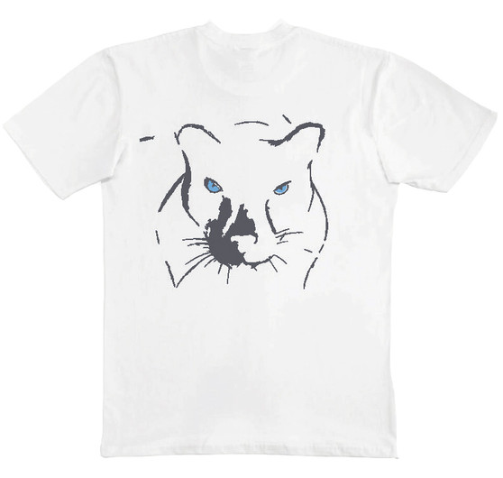 Hudson Puma Tee White