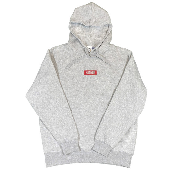Tyler Embroidered Hoodie Grey