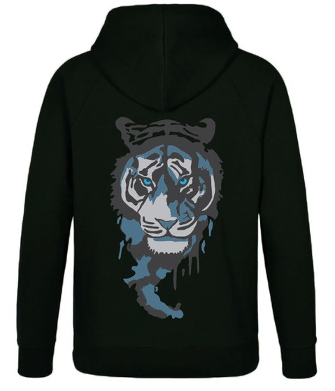 Landon Tiger Hoodie Black