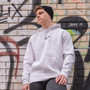Hoodie White - Front