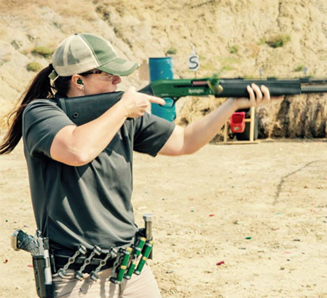Beginner to Advanced Sporting Clays Lesson with Sandra Watts
