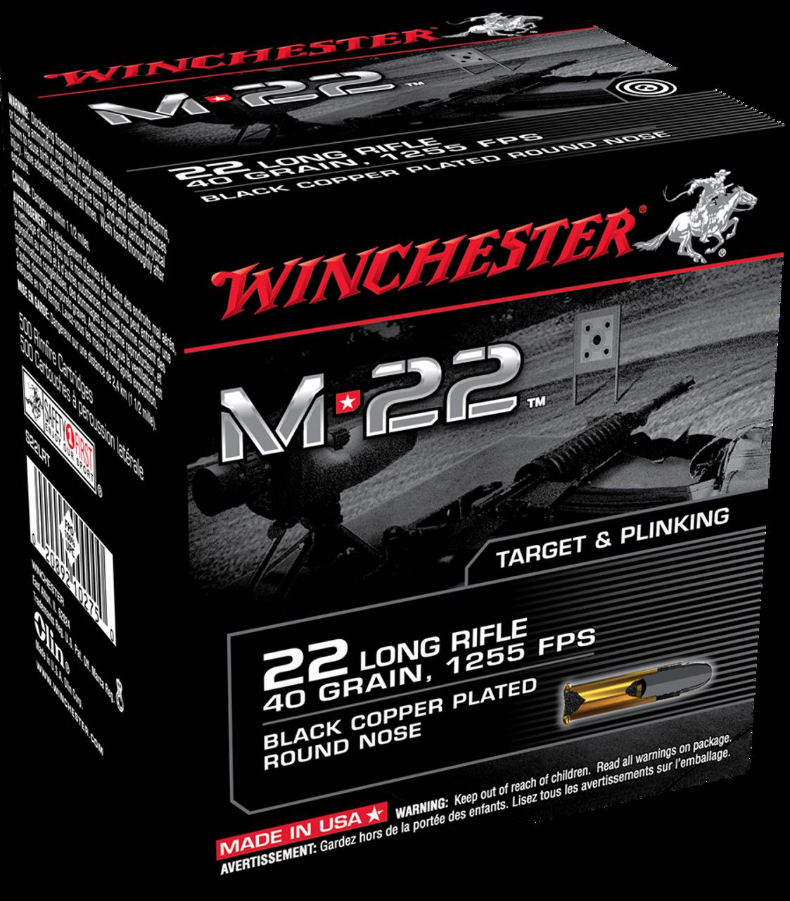 Facebook Ammunition Special - Winchester M22 - 22LR - 10 pounds