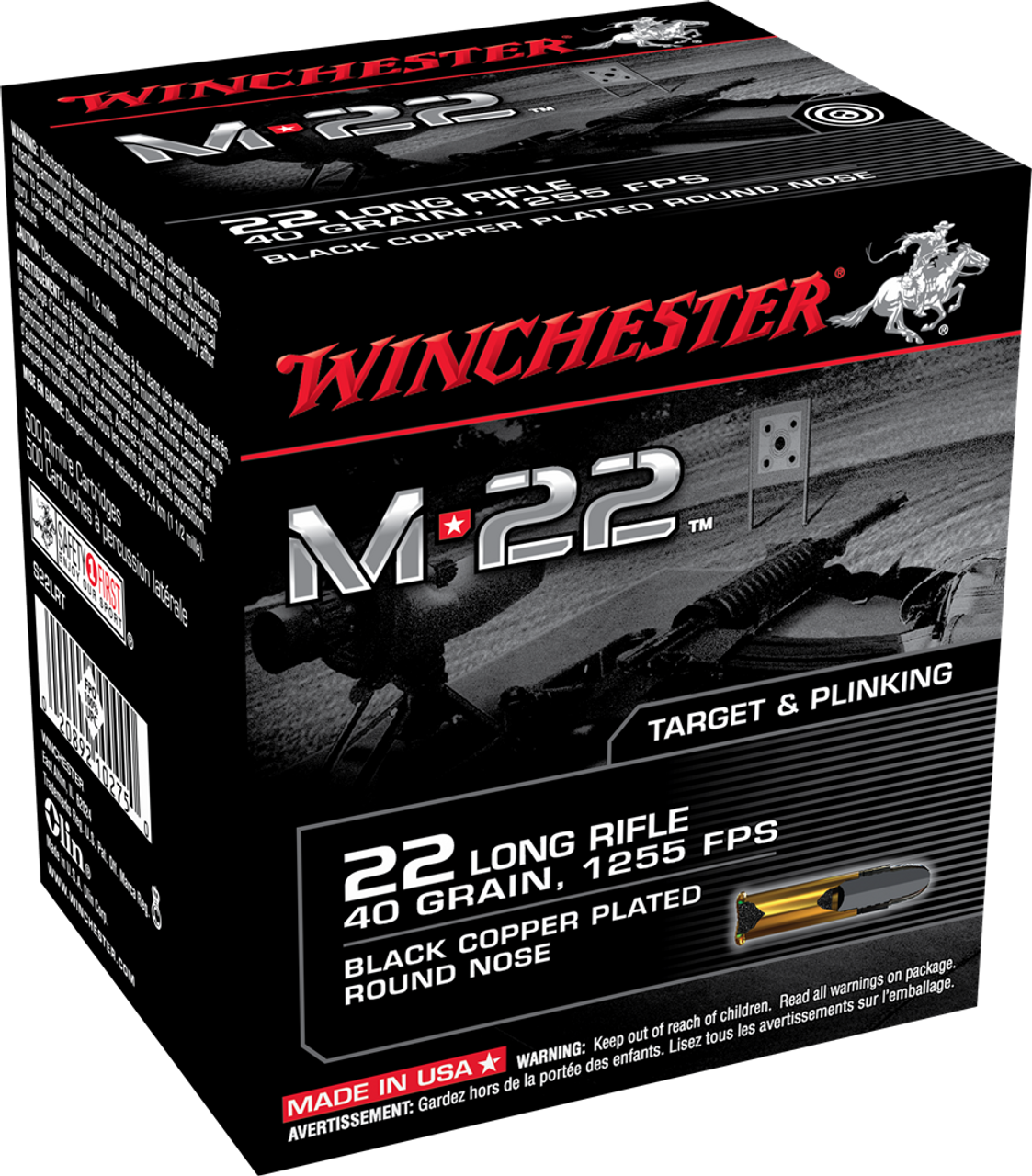Facebook Ammunition Special - Winchester M22 - 22LR - 5 pounds