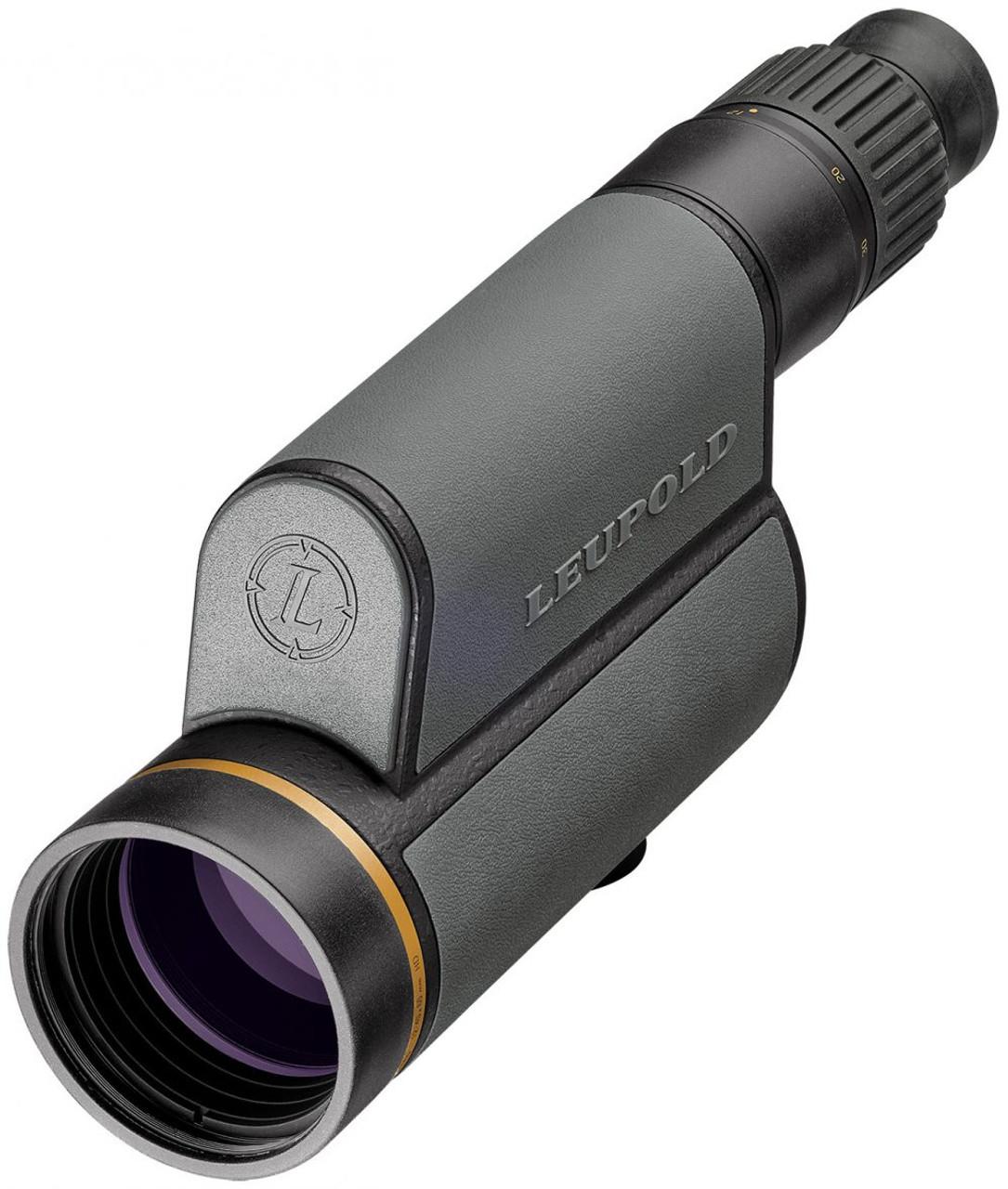 Leupold 120373 GR 12-40x60 HD Spotting Scope Shadow Grey Impact Reticle 030317006730