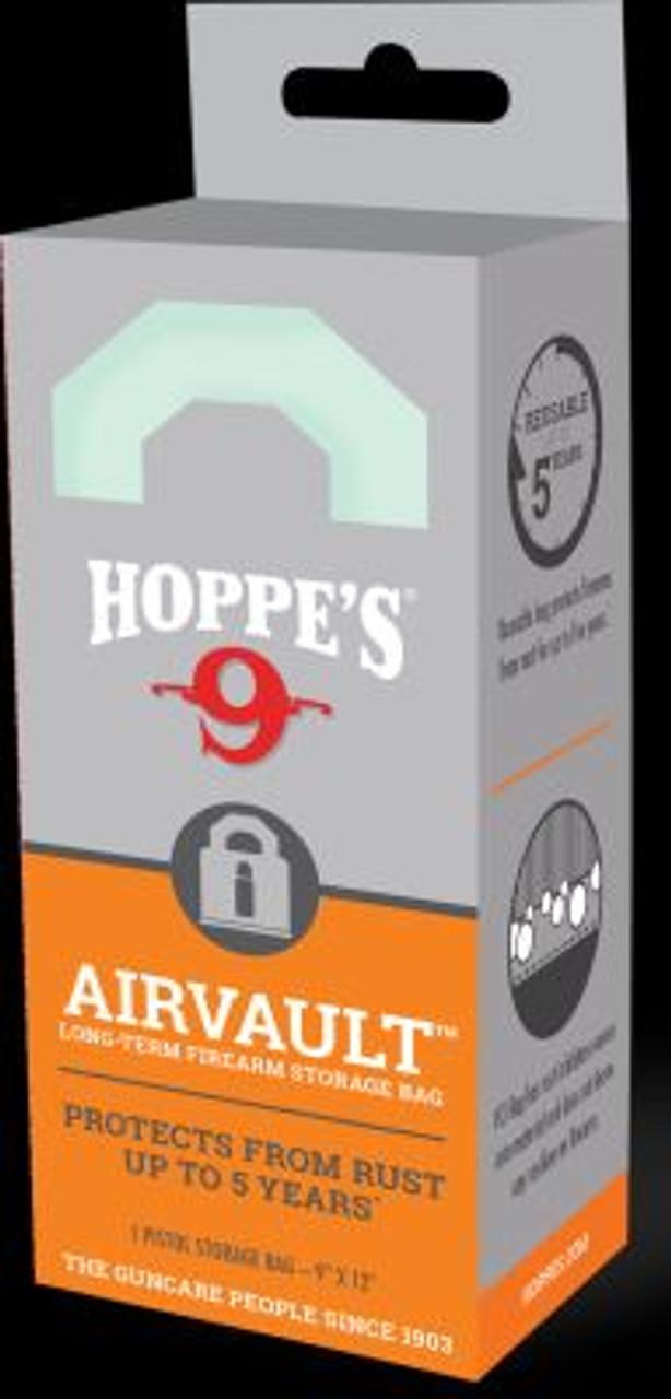 Hoppes HVCIS Air Vault Storage Bag Air Vault Storage Bag 9x12 Pistol sized 026285000917