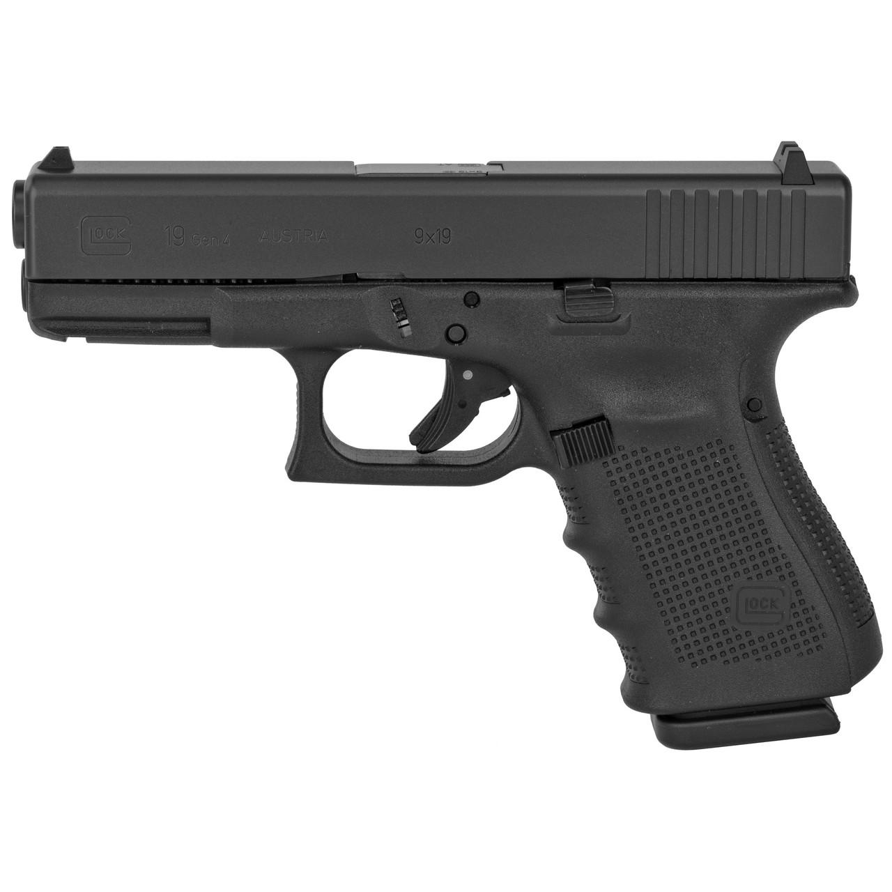 Glock 19 Gen4 9mm 15rd 3 Mags PG1950203 764503692031