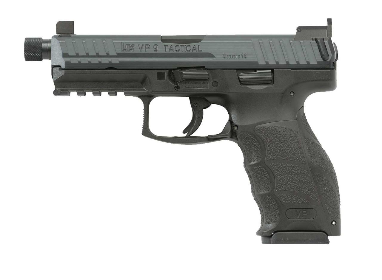 Heckler & Koch VP-9 Tactical - 700009TLE-A5 - 9mm Semi-automatic Pistol 642230255395