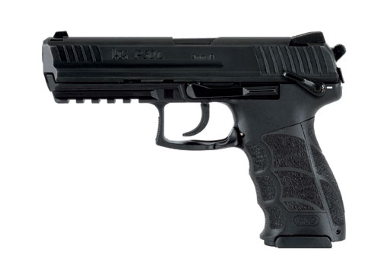 Heckler & Koch P30LS (V3) 730903LSLE-A5 DA/SA ambi safety/decocker lever - 9mm Semi automatic Pistol with Night Sights and safety 642230249516