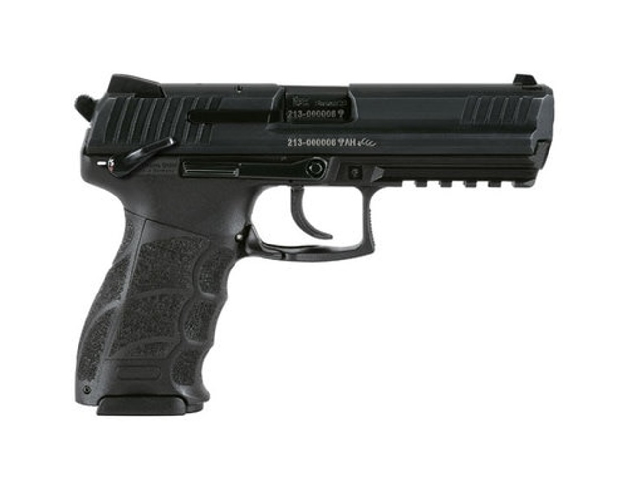 Heckler & Koch P30LS 9mm, Long Slide (V3) M730903LS‐A5 DA/SA, ambidextrous safety/rear decocking button, two 15rd magazines 642230247413