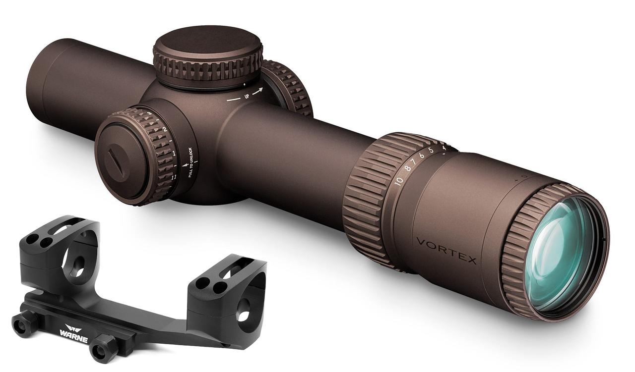 Vortex Razor HD Gen III 1-10x24 FFP 34mm EBR-9 (MRAD)  843829108980