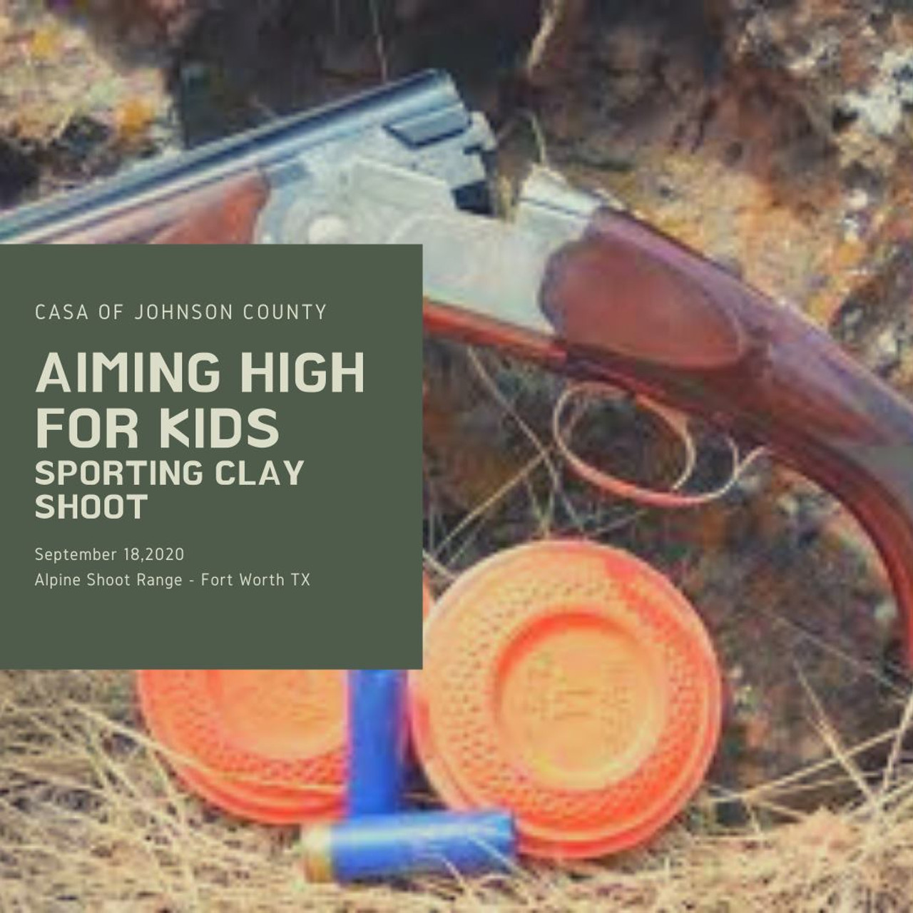 17th Annual Aiming High For Kids Sporting Clay Shoot - Sept 18, 2020