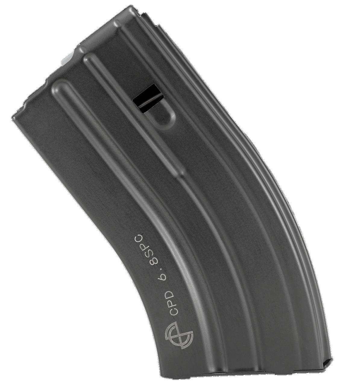 C Products Defense Inc Duramag Rifle, Cpd 2068041207cpd 6.8    20rd  Blk Mag Gry Followr