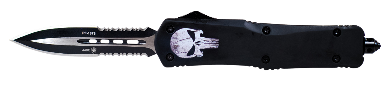 Templar Knife Fallen, Temp Lfl431   Large Fallen Dagger Serrated 440c