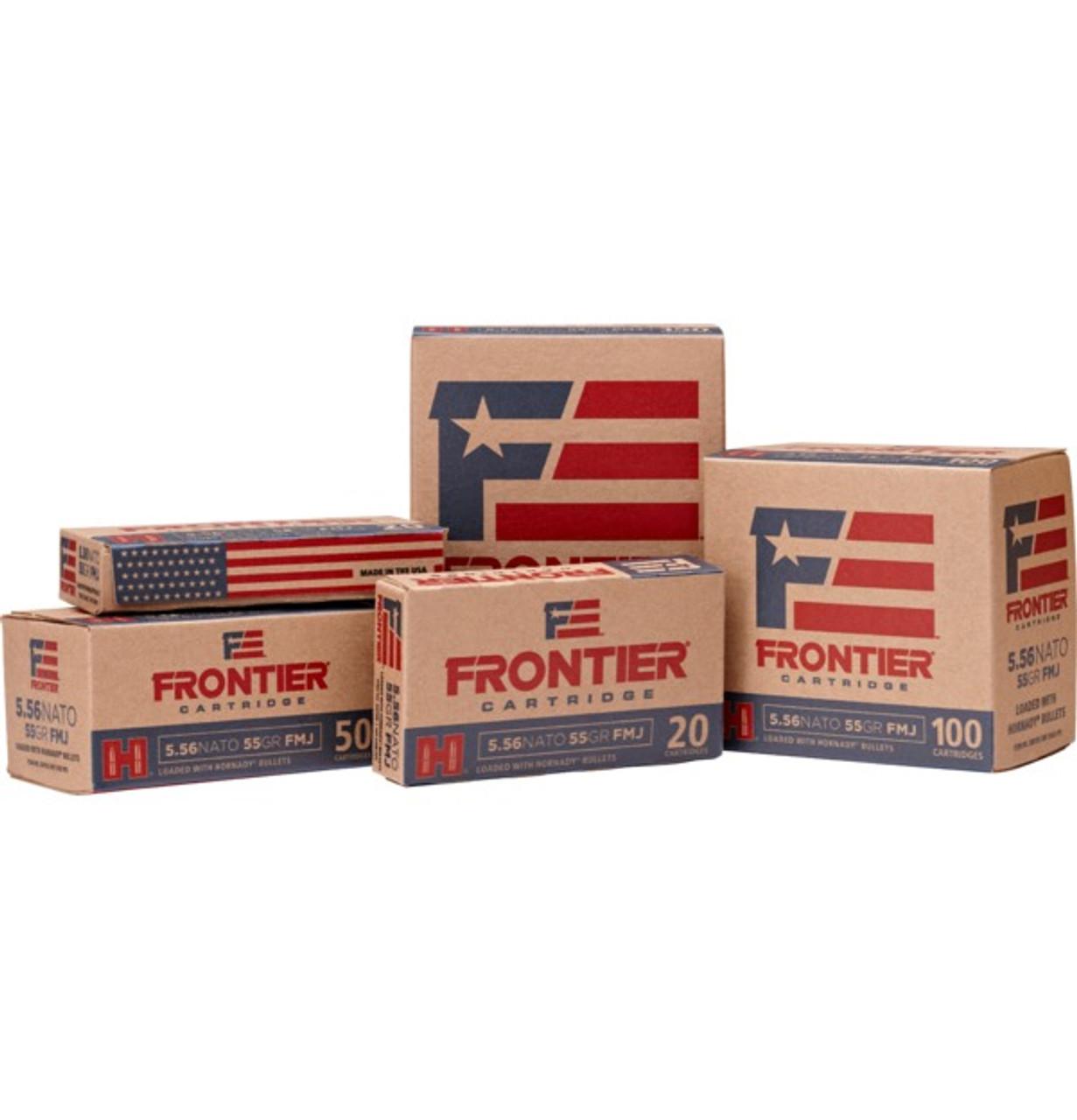 Hornady Frontier 223 Remington 68 gr BTHP Match 500 rounds - FR160 ammunition 10090255711384
