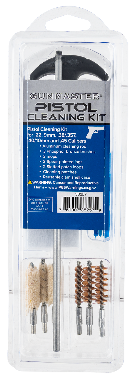 Dac , Dac 38257    Unv Pstl Cleaning Kit Clam  14pc