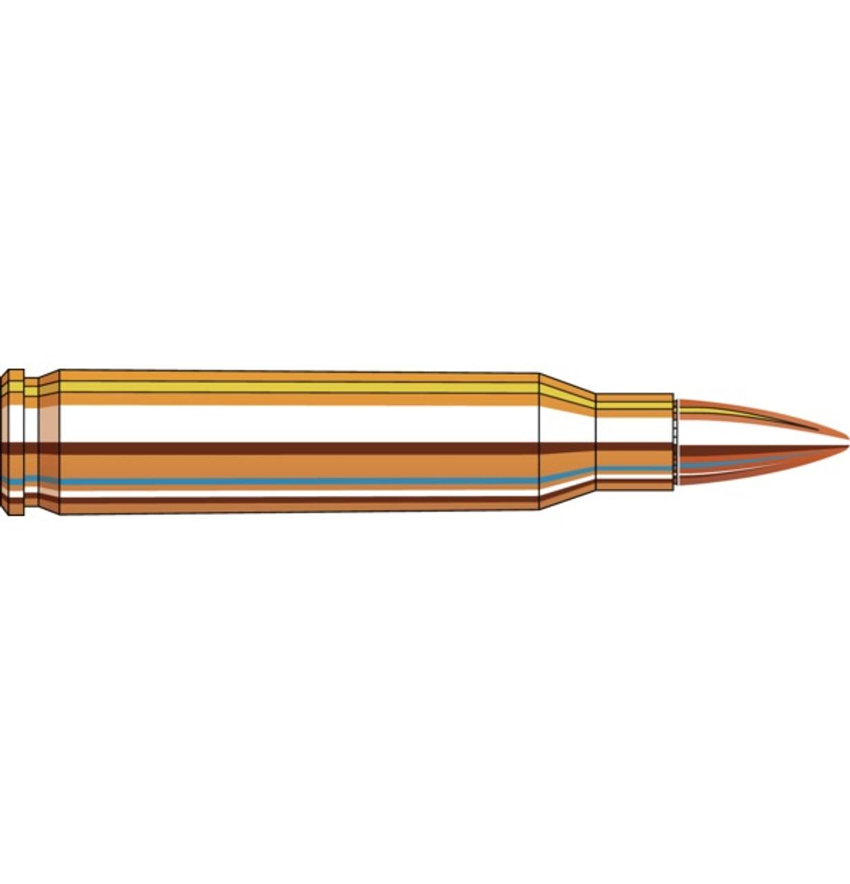 Hornady Frontier 5.56 NATO 55gr FMJ 500 rounds - M193 ammunition