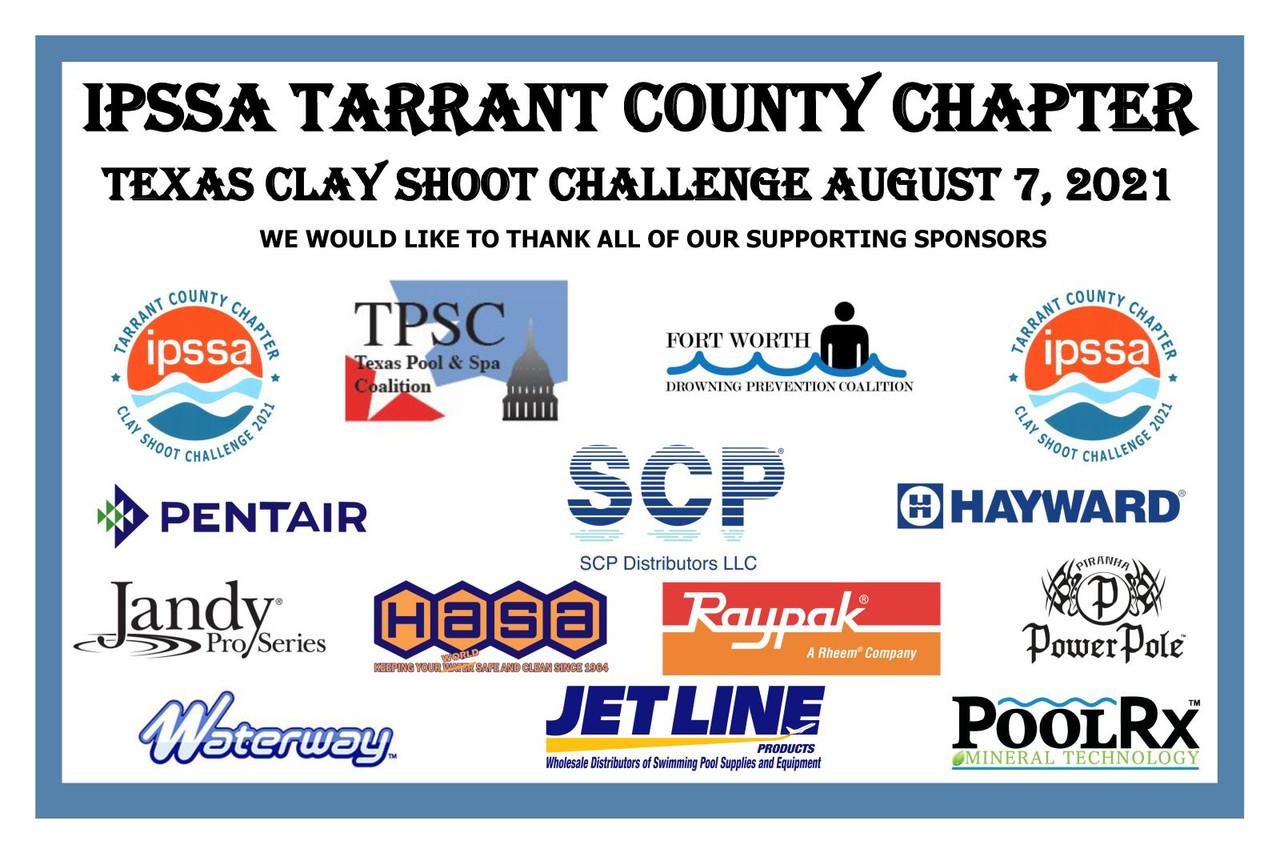 IPSSA Tarrant County Chapter Texas Clay Shoot - August 7, 2021