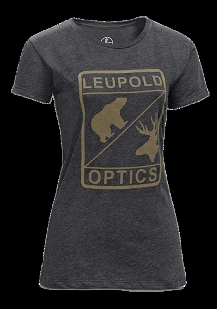 Leupold Ss L Optics, Leu 170560 L Optics Scoop Neck Tee Lg Womens Graph