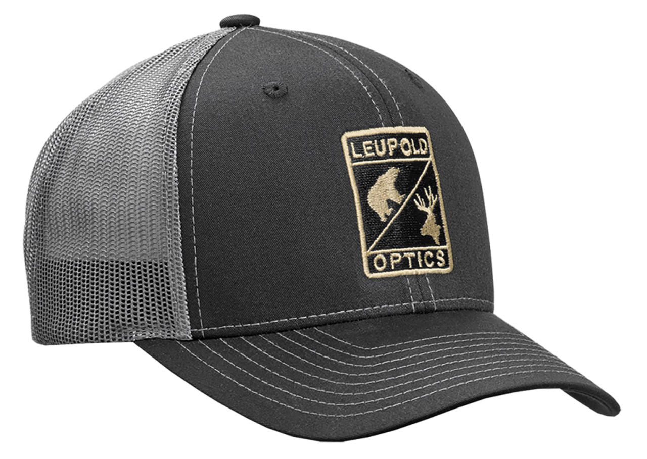 Leupold Wildlife, Leu 170580 Wildlife Trucker Hat       Blk/charcoal
