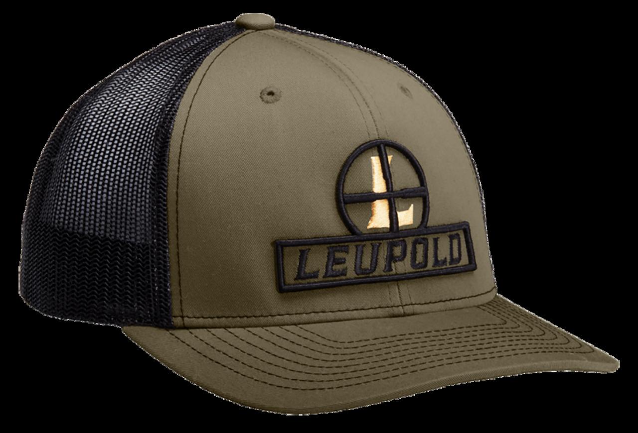 Leupold Reticle, Leu 170585 Reticle Trucker Hat         Loden/blk