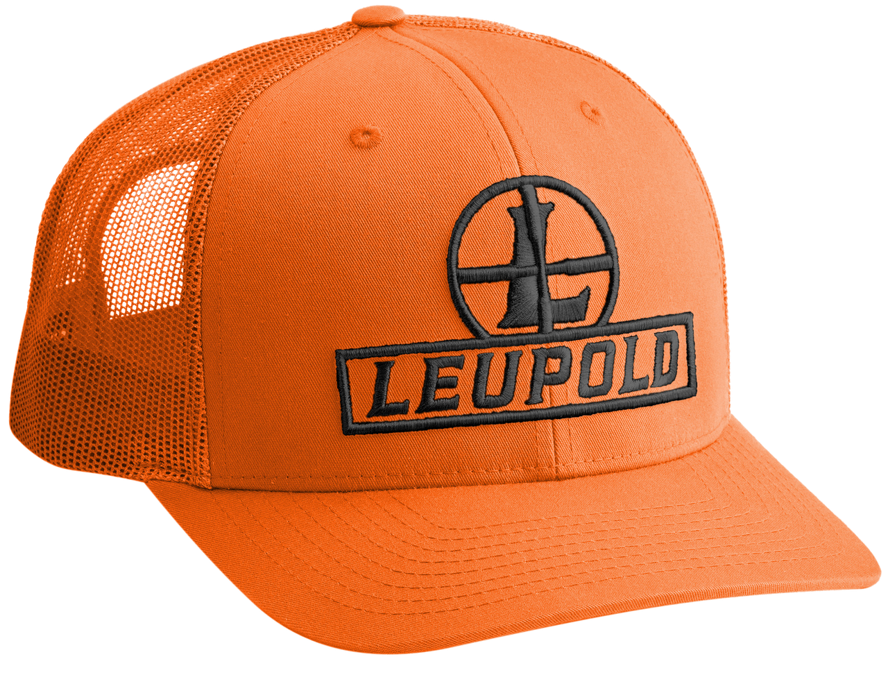 Leupold Reticle, Leu 178013 Leu Reticle Trucker Hat    Blaze Orange