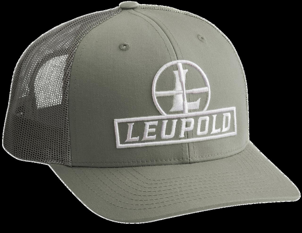 Leupold Reticle, Leu 178014 Leu Reticle Trucker Hat    Loden Green