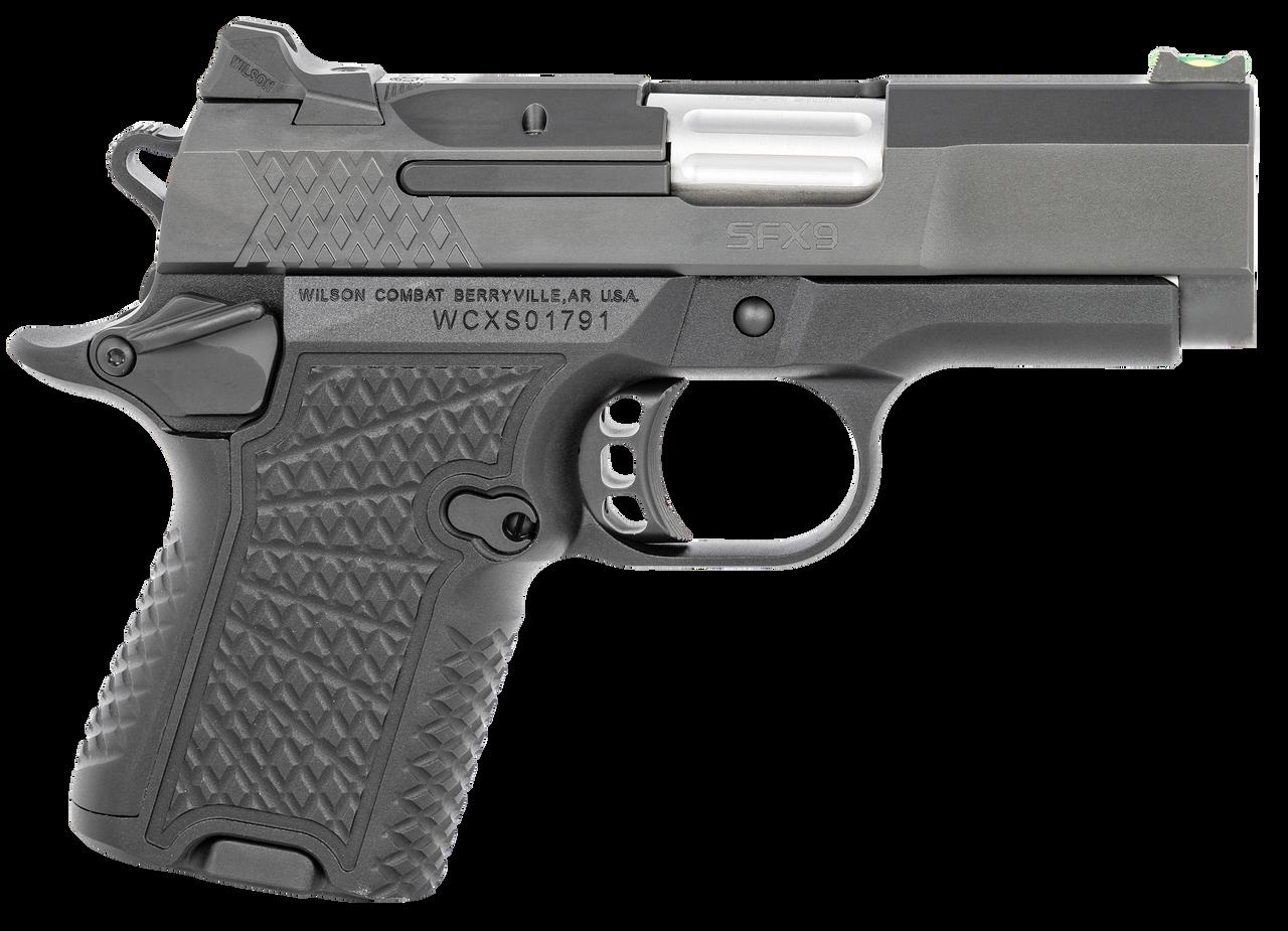 Wilson Combat Sfx9, Wils Sfx9-sc3-a  Sfx9 Subcompact 9mm Ambi Sfy